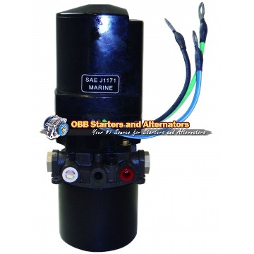 Tilt and Trim Motor & Pump 10829N, 6270, 823653A5, 92459A4, RT05016, 18-6765, 10829