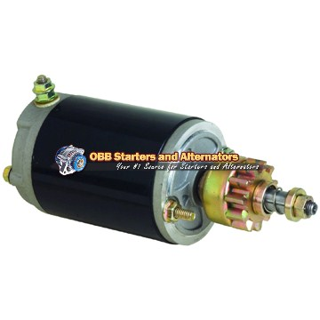 Evinrude Johnson Outboard Starter 5712N, 1113519, 0255640, 5705140, 5705140MO30SM, SM02556, SM57051, 386591, 392133, 585061, 586278, MDW4104M, 71-09-5712, 91-06-1950, 91-09-1010, 5376, 5712