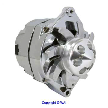 1 WIRE High Performance 10SI delco Alternator 7127-SECN-100A1G, 7127-SE105C, ADR0335-C, 21-7127-SE105C, 47-4834, P379N, RN7127-SE105C, RA00114, 70-01-7127SEHOC