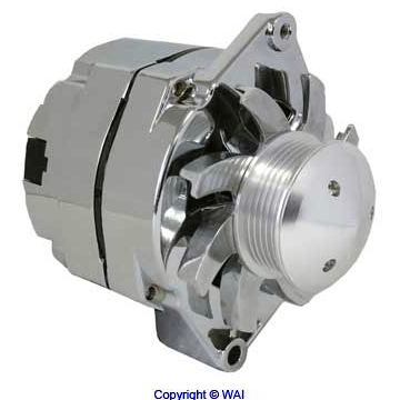 1 WIRE High Performance 10SI delco Alternator 7127-SECN-100A6G