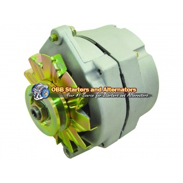 1 WIRE High Performance 10SI delco Alternator 7127-SEN, 1100125, 90-01-3085, 7127-SE