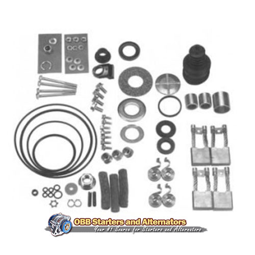 Delco 24V 37MT & 41MT Starter Repair Kit DD, 79-1124, RCP-23692, RCP-23737, RK-5010, RK37MT-24, 771-372, 771372, 69DR-197, 179-5124, D2-9164, D2-9166, 23692, SMDR-4652, Z6940-4652
